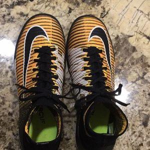 Nike mercurial x turf shoes. 5.5 size youth.